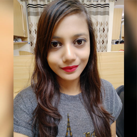 Nidhi- Marketing Executive
